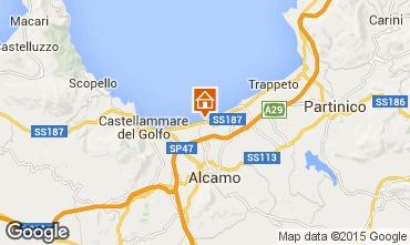 Mappa Alcamo Marina Appartamento 84457