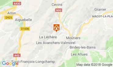 Mappa Doucy Combelouvière Appartamento 116985