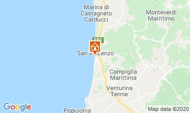 Mappa San Vincenzo Appartamento 113255