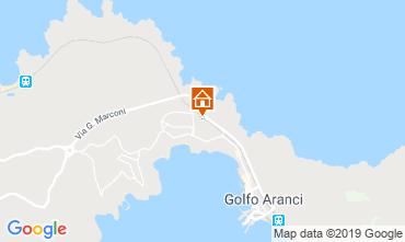 Mappa Golfo Aranci Villa  61414