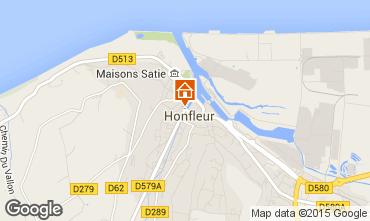 Mappa Honfleur Appartamento 7650