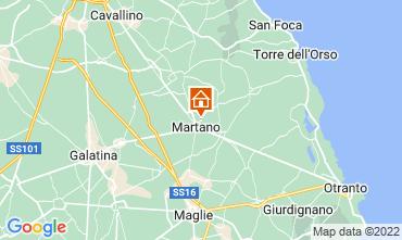 Mappa Martano Appartamento 105819