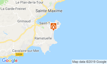 Mappa Saint Tropez Casa mobile 118661
