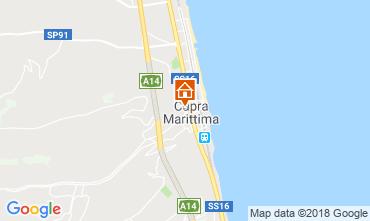 Mappa Cupra Marittima Appartamento 52647