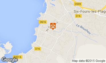 Mappa Six Fours Les Plages Casa 68526