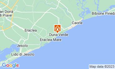 Mappa Caorle Appartamento 114442