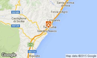 Mappa Giardini Naxos Appartamento 32503