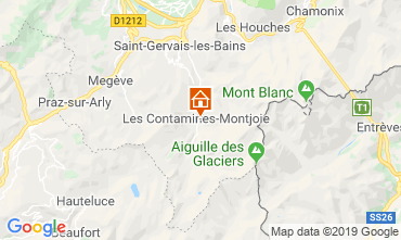 Mappa Les Contamines Montjoie Chalet 32551