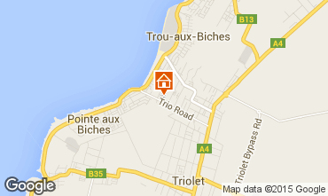 Mappa Trou-aux-biches Appartamento 83923