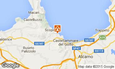 Mappa Scopello Appartamento 76816