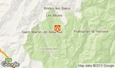 Mappa Méribel Monolocale 89648