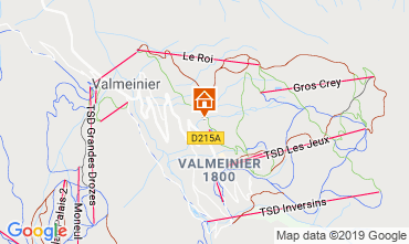 Mappa Valmeinier Appartamento 118538