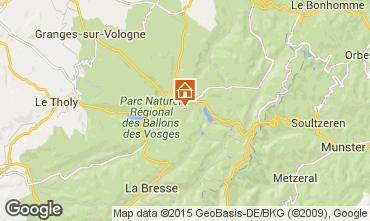 Mappa Gérardmer Chalet 35155
