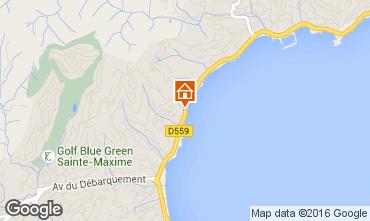 Mappa Sainte Maxime Villa  70153