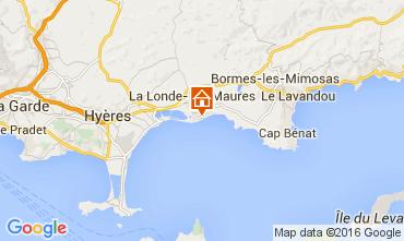 Mappa La Londe les Maures Appartamento 103800