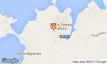 Mappa Santa Teresa di Gallura Casa 71335