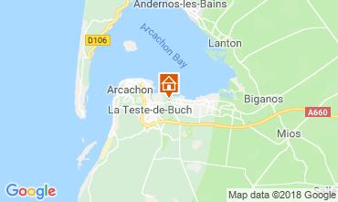 Mappa Arcachon Casa 110612
