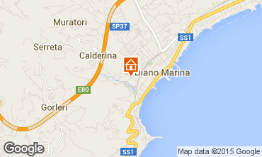 Mappa Diano Marina Monolocale 70975