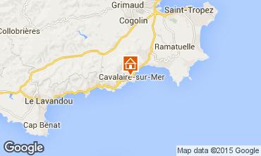 Mappa Cavalaire-sur-Mer Appartamento 93859