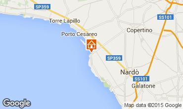 Mappa Porto Cesareo Monolocale 99038
