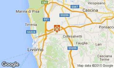 Mappa Tirrenia Appartamento 52200