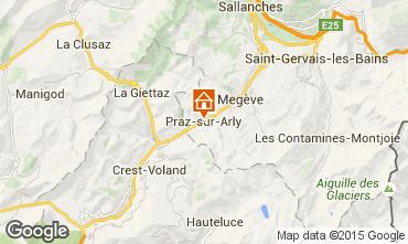 Mappa Praz sur Arly Monolocale 2297