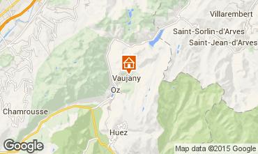 Mappa Vaujany Appartamento 72684