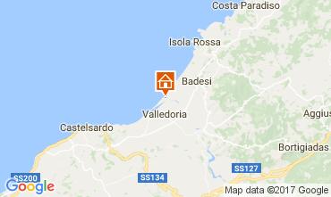 Mappa Badesi Appartamento 59972