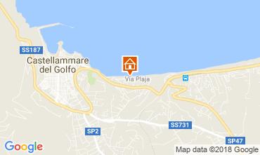 Mappa Castellammare del Golfo Appartamento 66567