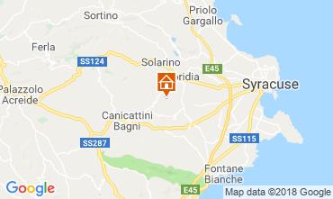 Mappa Siracusa Villa  116919