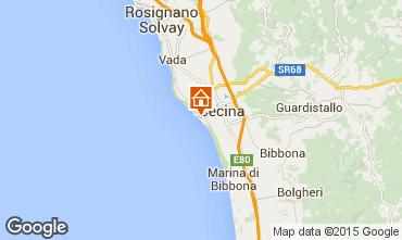 Mappa Cecina Appartamento 90567