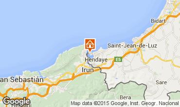 Mappa Hendaye Casa 76677
