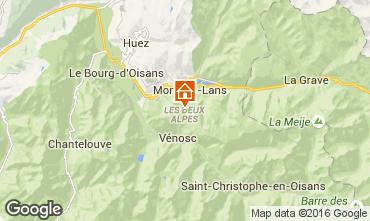 Mappa Les 2 Alpes Appartamento 50663