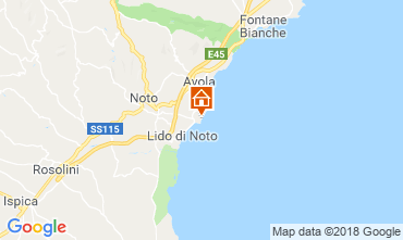 Mappa Noto Villa  117388