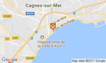 Mappa Cagnes sur Mer Appartamento 111275