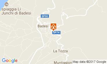 Mappa Badesi Appartamento 112512
