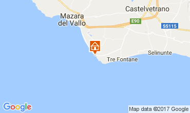 Mappa Tre Fontane Villa  107993