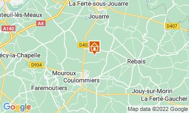 Mappa Marne la Vallée Agriturismo 107157