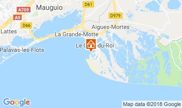 Mappa Le Grau du Roi Appartamento 81038