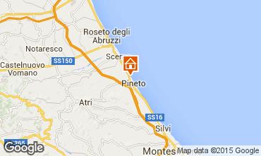Mappa Pineto Appartamento 98312