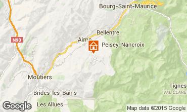 Mappa La Plagne Chalet 2148