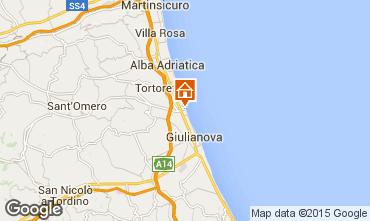 Mappa Giulianova Appartamento 35266
