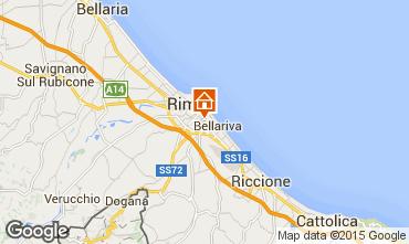 Mappa Rimini Appartamento 82279