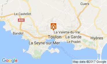 Mappa Tolone Villa  110307