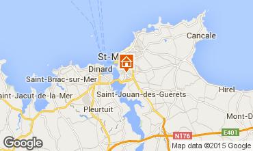 Mappa Saint Malo Monolocale 90621