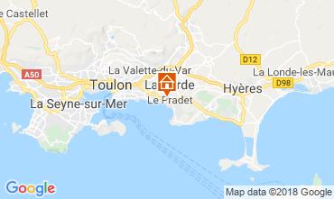 Mappa Le Pradet Appartamento 108639