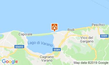 Mappa Rodi Garganico Appartamento 84571