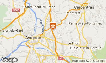 Mappa Vedène Appartamento 101756
