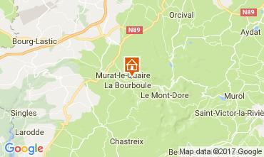 Mappa La Bourboule Chalet 111687