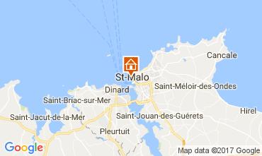Mappa Saint Malo Appartamento 111558